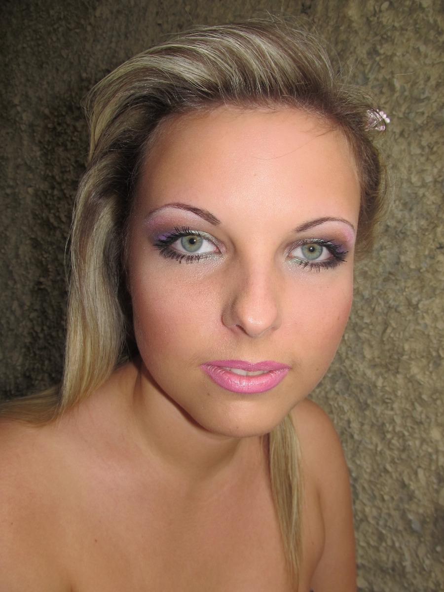 Свадебный макияж зелёных глаз фото